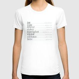 Love Languages T-shirt