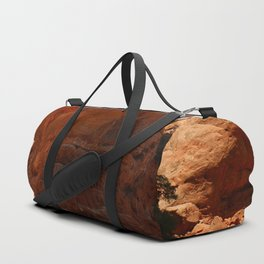 The Base Of An Arch Duffle Bag