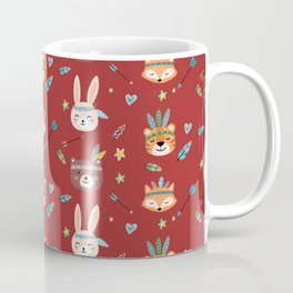 Woodland Red  Coffee Mug