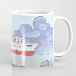 A ship in the sky Coffee Mug