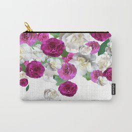 Graphic Floral Scatter Carry-All Pouch