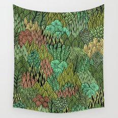 April Leaves Wall Tapestry