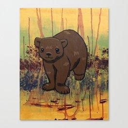 Bear Cub Canvas Print