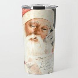 Letter to Santa Claus Travel Mug