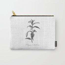 Lemon Verbena Botanical Illustration Carry-All Pouch