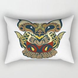 Creative Art Owl Print Rectangular Pillow