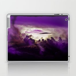I Want To Believe - Purple Laptop & iPad Skin