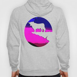 Banker Bull's Cliff - High Achiever Packman  Hoody