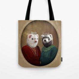 Skittle & Belette Tote Bag