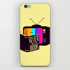The Book Was Better iPhone & iPod Skin