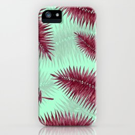 Palm Fronds 2 iPhone Case