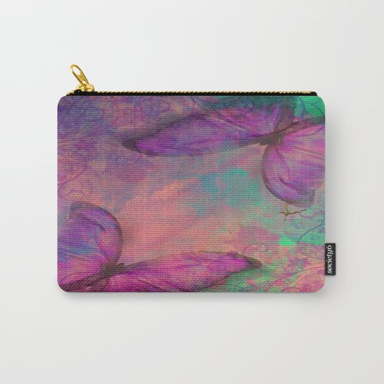 Butterfly Love Abstract Carry-All Pouch