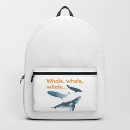 Whale, whale ,whale Backpack