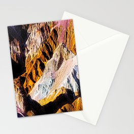 Artist Palette in California's Death Valley National Park. Stationery Cards