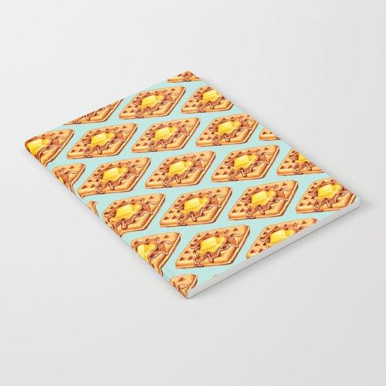 Waffle Pattern Notebook