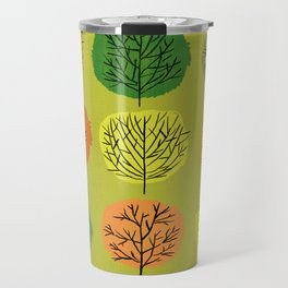 Tidy Trees All In Pretty Rows Travel Mug