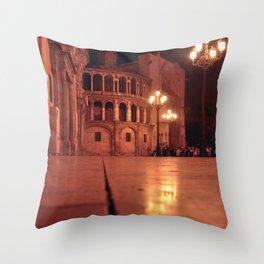 REAL BASILICA in VALENCIA Throw Pillow