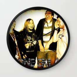stone em all Wall Clock