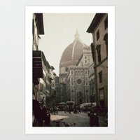 florence Art Prints featuring Florence by poki4