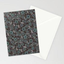 miniflower -3 Stationery Cards