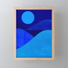 Abstraction_Moonlight Framed Mini Art Print
