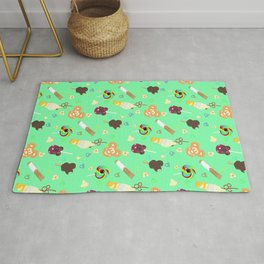 Mouse Ears Snack Pack Pattern Rug