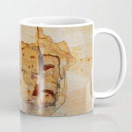 Stone wall Abstrackt hole Coffee Mug