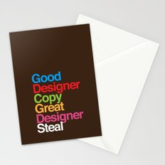 Pablo Picasso Adopted Stationery Cards