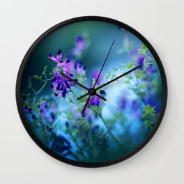 Forest Echoes Wall Clock