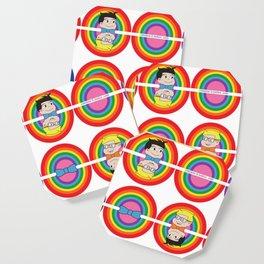 Rainbow Delite Coaster