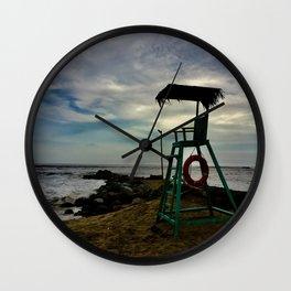 Lifeguard Chair Wall Clock