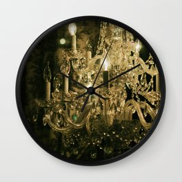 New Orleans Chandelier Wall Clock