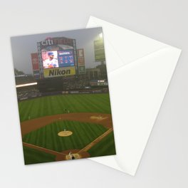 Rainy Day in May at Citi Field Stationery Cards