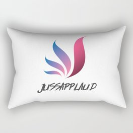 Jussaplaud Female Logo Rectangular Pillow