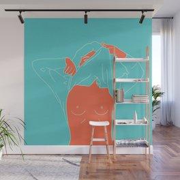Strip Wall Mural