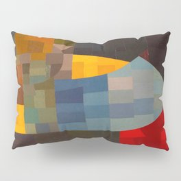 Otto Freundlich Komposition 1930 Mid Century Modern Abstract Colorful Geometric Painting Pattern Art Pillow Sham