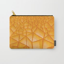 Geometric Plastic Carry-All Pouch