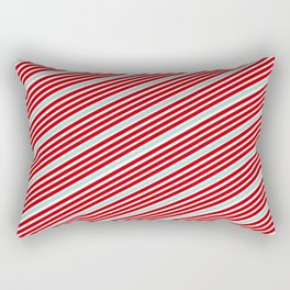 Carnival Stripes Rectangular Pillow