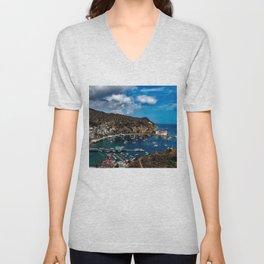 Catalina Island, California Unisex V-Neck