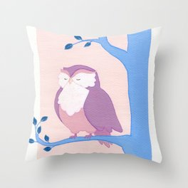 the creature of the Night Throw Pillow