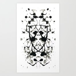 Rorschach`s Wife Art Print