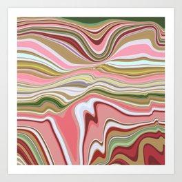 NEAPOLITAN - melting colours Art Print