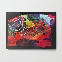 Color3 Metal Print