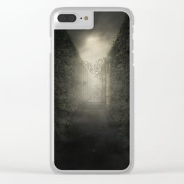 Forgotten alley Clear iPhone Case