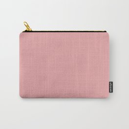Light Pink Mellow Rose 2018 Fall Winter Color Trends Carry-All Pouch
