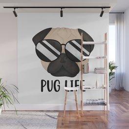 Pug Life Wall Mural