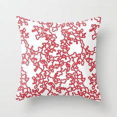 Sqwiggles Throw Pillow