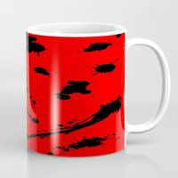 blood Mugs featuring Blood by Holy Spoof