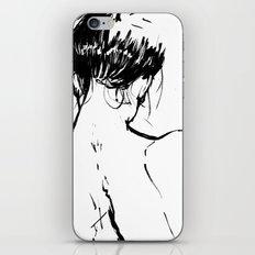 Neckline iPhone & iPod Skin