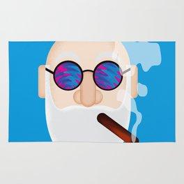 Smoking Man Rug